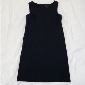 DKNY Black Office Dress
